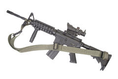 M4马枪 免版税库存照片