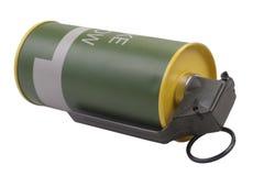 M18黄色发烟手榴弹 免版税库存图片
