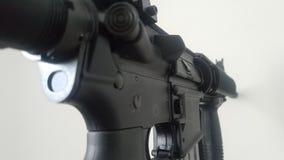 M 16,武器为战士意欲 库存照片