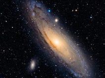 M31 :仙女座星系 免版税图库摄影