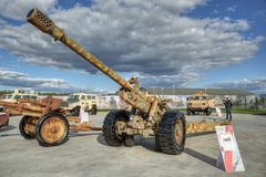 M-46枪 免版税图库摄影