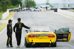 M-150 Drift Competition, Bonanza Racing Circuit Royalty Free Stock Photography