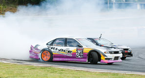 M-150 Drift Competition, Bonanza Racing Circuit Stock Image