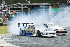M-150 Drift Competition, Bonanza Racing Circuit Stock Photos