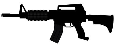 M-16 rifel Stock Photography