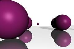球m 向量例证