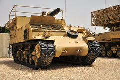 M-50 Self-propelled gun. Stock Photography