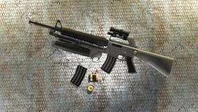 M16 royalty ilustracja
