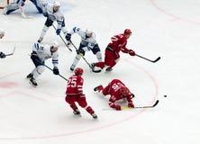 M. Aaltonen (55) fall down Stock Photo