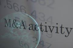 M&A activity Stock Photo