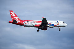 9M-AFP Airbus A320-200 of Airasia Royalty Free Stock Image