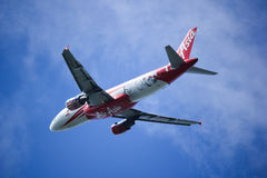9M-AFP Airbus A320-200 of Airasia. Stock Photography