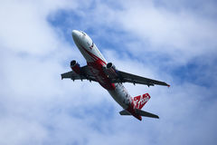 9M-AFP Airbus A320-200 of Airasia. Royalty Free Stock Photo