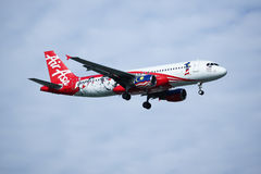 9M-AFP Airbus A320-200 d'Air Asia Photographie stock