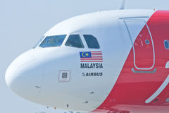 9M-AHC  Airbus A320-200 of Airasia Stock Images
