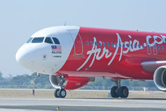 9M-AHC  Airbus A320-200 of Airasia Royalty Free Stock Photo