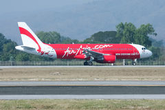 9M-AHC  Airbus A320-200 of Airasia Stock Photos