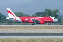 9M-AHC  Airbus A320-200 of Airasia Stock Photos
