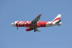 9M-AHM Airbus A320-200 de Air Asia Foto de Stock