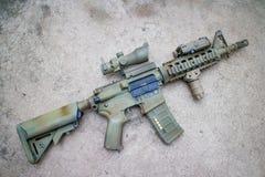 M4a1 airsoft枪 免版税库存图片