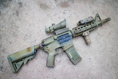 M4a1 airsoft kanon Royalty-vrije Stock Afbeelding
