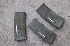 M4a1 airsoft magazine Royalty Free Stock Photography