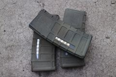 M4a1 airsoft magazine Stock Photos