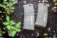 M4A1 airsoft magazine Royalty Free Stock Image