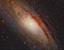 M31 andromed galaktyka Obraz Stock