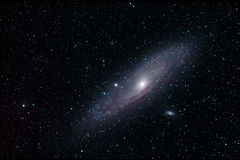 M31 - Andromeda galaxy Royalty Free Stock Images