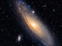 M31:  Andromeda Galaxy Royalty Free Stock Photography