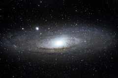 M31 Andromeda galaxy Stock Images