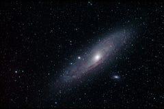 M31 - Andromedagalax Royaltyfria Bilder