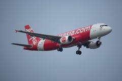 9M-AQG Airbus A320-200 de Air Asia Fotografia de Stock