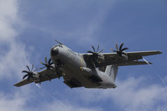 A400M in aria Fotografia Stock
