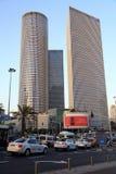 187m aviv azrieli budynku centrum Israel 187m wysoki tel Zdjęcia Stock