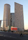 187m aviv azrieli budynku centrum Israel 187m wysoki tel Fotografia Stock