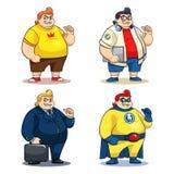 M. Bigger Characters illustration stock