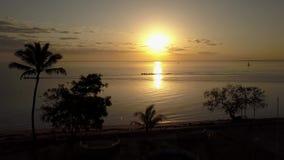6 a M bij het Eiland van Zanzibar stock video