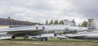 3M- Bombardeiro estratégico do jato (1956) O primeiro soviete int estratégico Foto de Stock