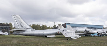 3M- Bombardeiro estratégico do jato (1956) O primeiro soviete int estratégico Fotografia de Stock