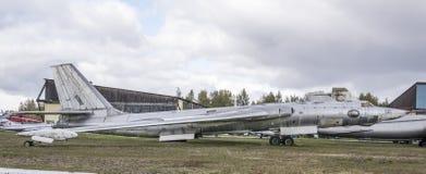 3M- Bombardeiro estratégico do jato (1956) O primeiro soviete int estratégico Imagens de Stock Royalty Free