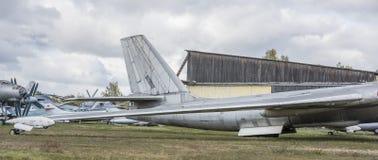 3M- Bombardeiro estratégico do jato (1956) O primeiro soviete int estratégico Imagem de Stock