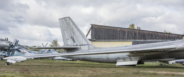 3M- Bombardiere strategico del getto (1956) Il primo Soviet int strategico Immagine Stock