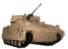 M2 Bradley Fighting Vehicle en el desierto Brown libre illustration