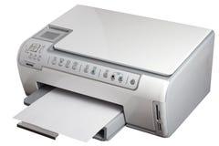 M/c dello scanner di stampante Fotografia Stock Libera da Diritti