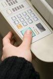 M/c e fax del laser fotografia stock libera da diritti