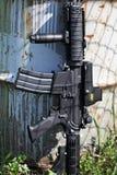 M4A1 .223 calorie. Carabina di assalto Fotografia Stock Libera da Diritti