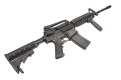 M4 carbine Royalty Free Stock Images