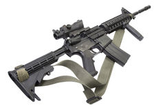 M4 carbine with Stock Photo